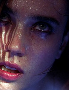 Jennifer Connelly requiem for a dream close up face intense