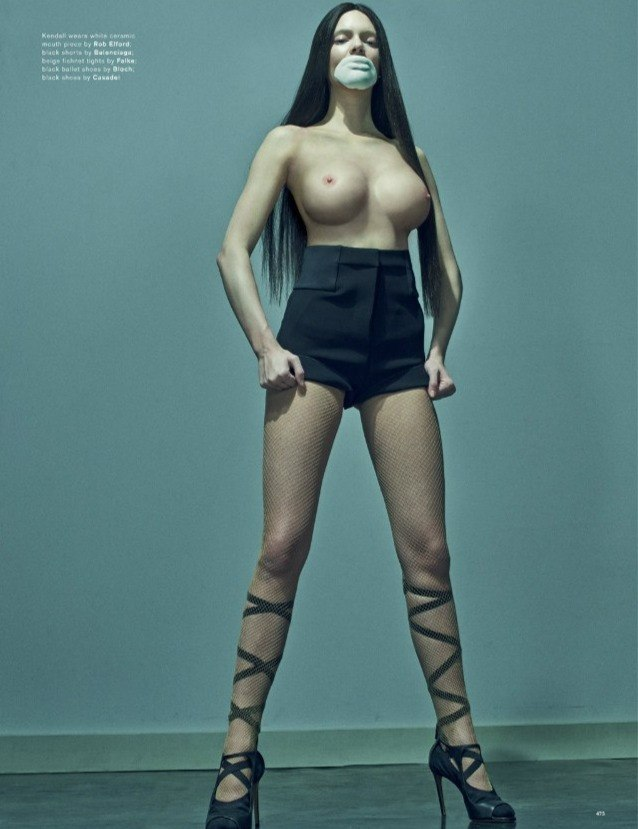 kendall jenner naked Love magazine topless photo shoot 2015 leaked celebrity photo 6
