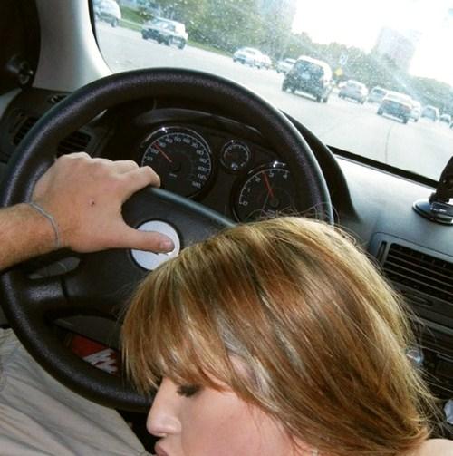 blow job when driving video