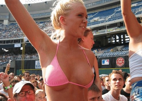 how to be a classy female in public bikini nipple
